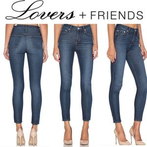 Lovers and Friends Mason High Rise Skinny Jeans